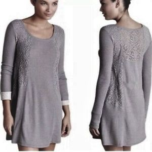 Anthropologie Eloise Gwyneira Knit Lace Chemise L
